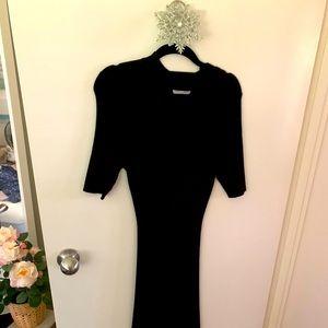 Very stretchy Slimfit black H&M dress